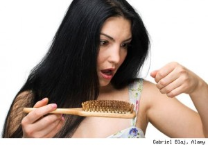 Caida cabello en mujeres