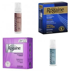 Productos con Minoxidil